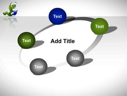 Smart Worm PowerPoint Template Slide 14