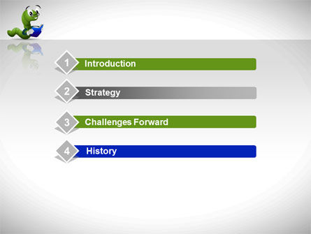 Smart Worm PowerPoint Template Slide 3