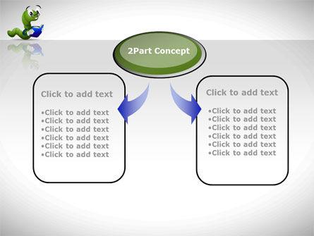 Smart Worm PowerPoint Template Slide 4