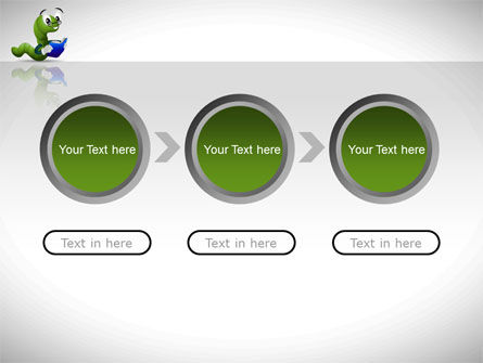 Smart Worm PowerPoint Template Slide 5