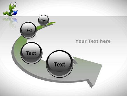 Smart Worm PowerPoint Template Slide 6
