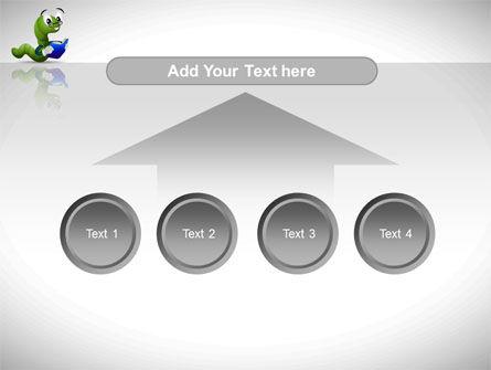 Smart Worm PowerPoint Template Slide 8