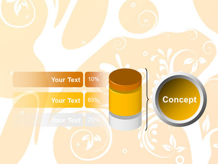 Yellow Design Background PowerPoint Template Slide 11
