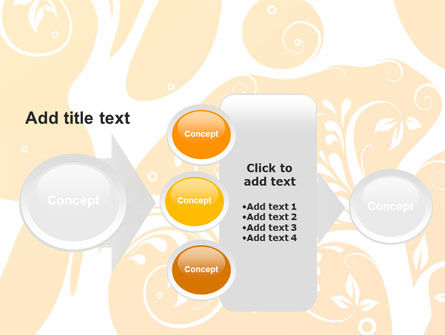 Yellow Design Background PowerPoint Template Slide 17