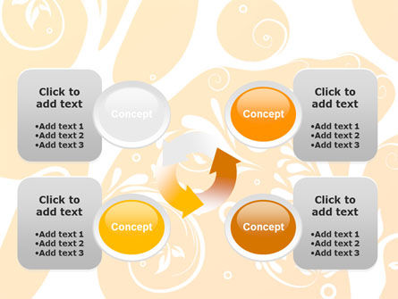 Yellow Design Background PowerPoint Template Slide 9