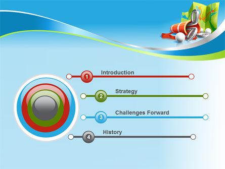 Golf Championships PowerPoint Template Slide 3