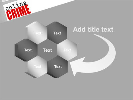 Online Crime PowerPoint Template Slide 11