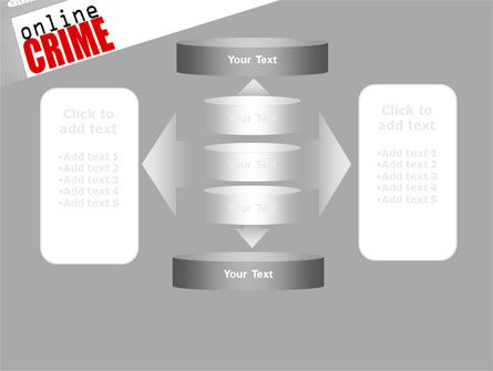 Online Crime PowerPoint Template Slide 13
