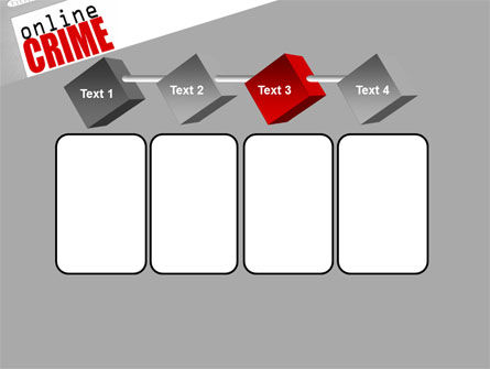 Online Crime PowerPoint Template Slide 18