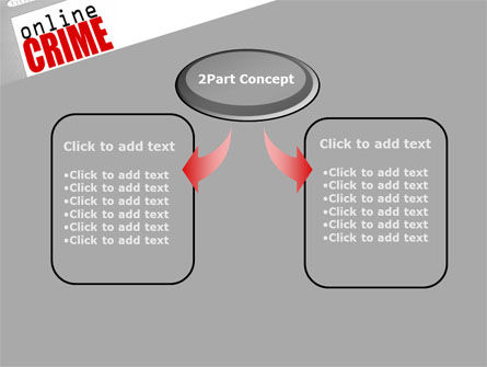 Online Crime PowerPoint Template, Slide 4, 08377, Legal — PoweredTemplate.com