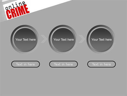 Online Crime PowerPoint Template Slide 5