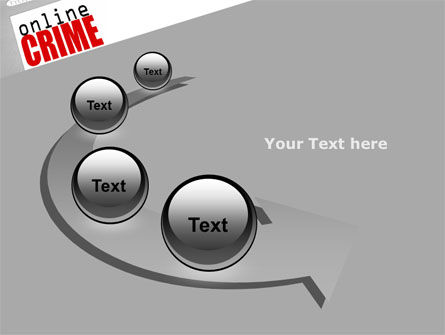 Online Crime PowerPoint Template Slide 6