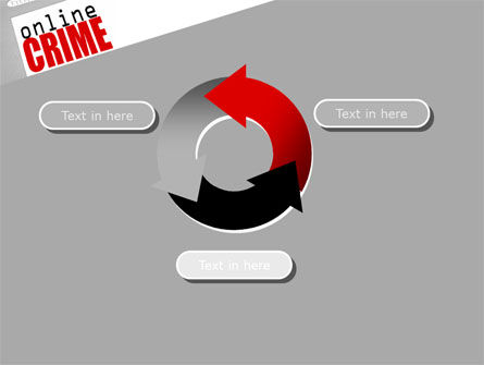 Online Crime PowerPoint Template Slide 9