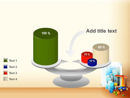 Building Calendar Free PowerPoint Template Slide 10