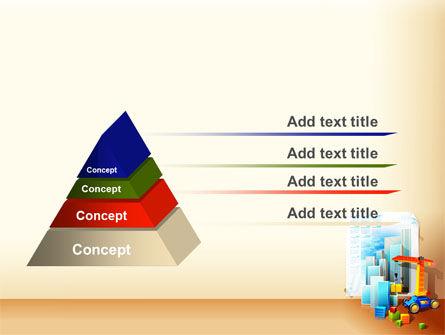 Building Calendar Free PowerPoint Template Slide 12