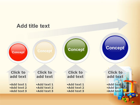 Building Calendar Free PowerPoint Template Slide 13