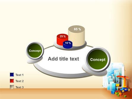 Building Calendar Free PowerPoint Template Slide 16