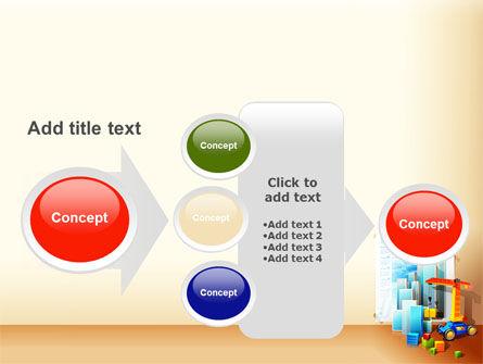 Building Calendar Free PowerPoint Template Slide 17