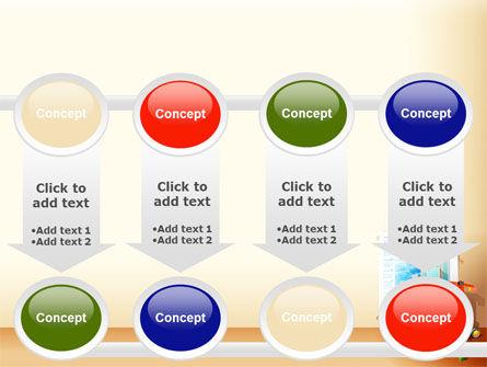Building Calendar Free PowerPoint Template Slide 18
