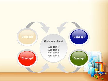 Building Calendar Free PowerPoint Template Slide 6