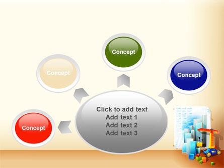 Building Calendar Free PowerPoint Template Slide 7