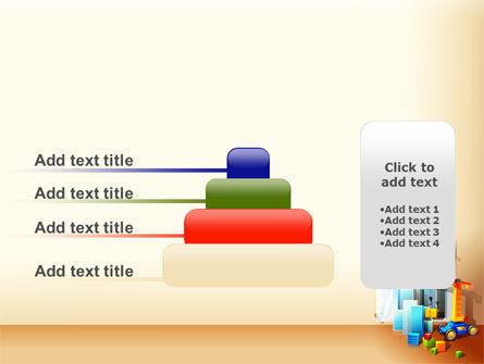 Building Calendar Free PowerPoint Template Slide 8