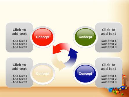 Building Calendar Free PowerPoint Template Slide 9