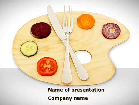 Healthy Diet PowerPoint Template, 08383, Careers/Industry — PoweredTemplate.com