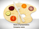 Careers/Industry: Healthy Diet PowerPoint Template #08383