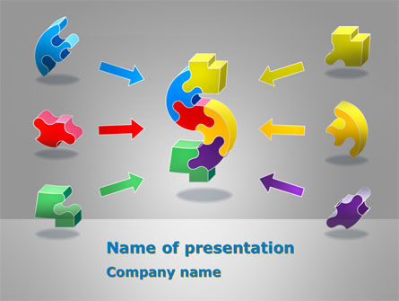 Business Concepts: Profit Components PowerPoint Template #08384