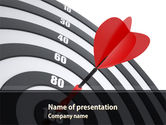 Consulting: Bullseye PowerPoint Template #08389