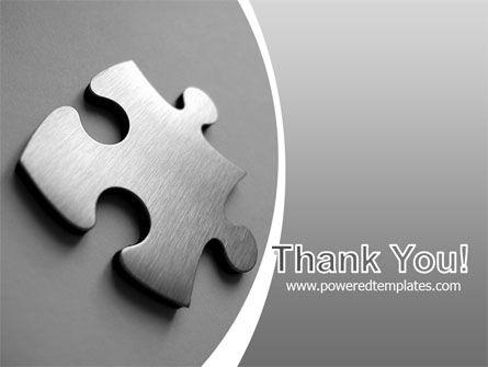 Steel Jigsaw PowerPoint Template Slide 20