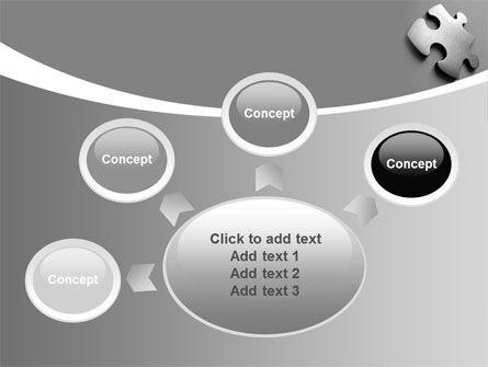 Steel Jigsaw PowerPoint Template Slide 7