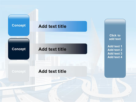 City Paysage PowerPoint Template Slide 12