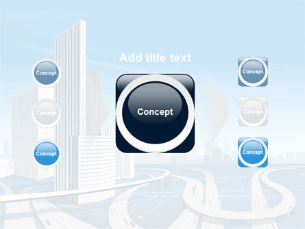 City Paysage PowerPoint Template Slide 17