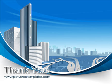 City Paysage PowerPoint Template Slide 20