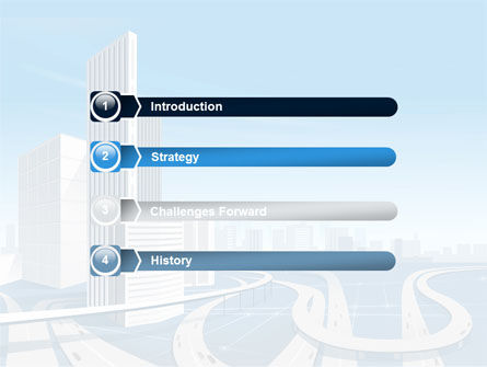 City Paysage PowerPoint Template Slide 3