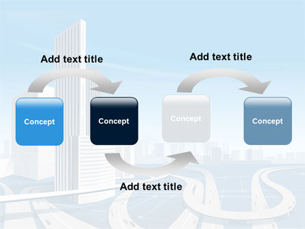 City Paysage PowerPoint Template, Slide 4, 08391, Construction — PoweredTemplate.com