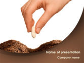 Business Concepts: Seed PowerPoint Template #08392