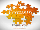 Economy Puzzle PowerPoint Template#20