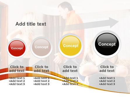 Family Quarrel PowerPoint Template Slide 13
