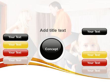 Family Quarrel PowerPoint Template Slide 14