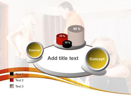 Family Quarrel PowerPoint Template Slide 16