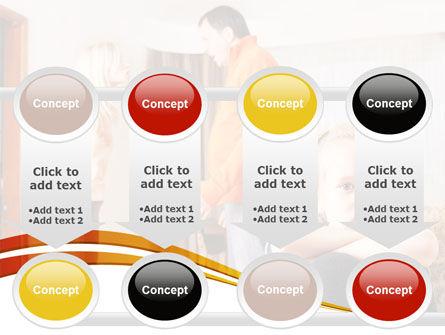 Family Quarrel PowerPoint Template Slide 18