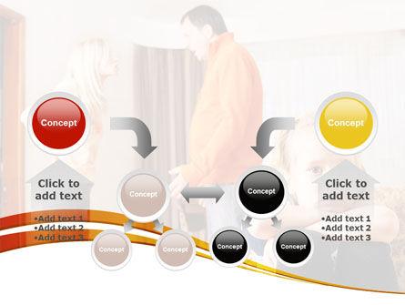 Family Quarrel PowerPoint Template Slide 19