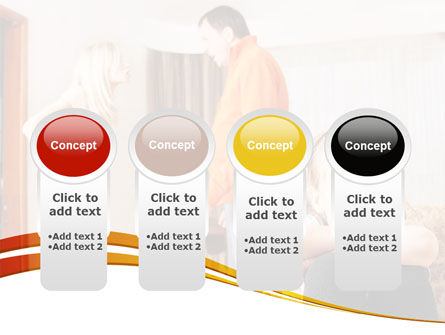 Family Quarrel PowerPoint Template Slide 5
