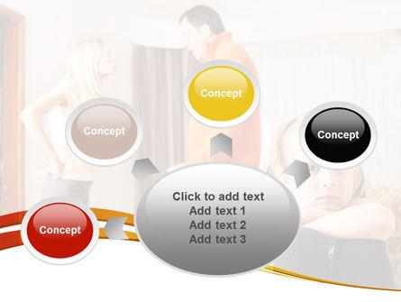 Family Quarrel PowerPoint Template Slide 7