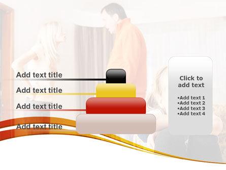 Family Quarrel PowerPoint Template Slide 8