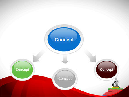 Business Way PowerPoint Template, Slide 4, 08396, Consulting — PoweredTemplate.com