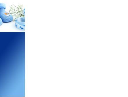 Little Blue Slippers PowerPoint Template, Slide 3, 08397, Education & Training — PoweredTemplate.com
